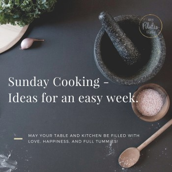Sunday Cooking Ideas for an Easy Week