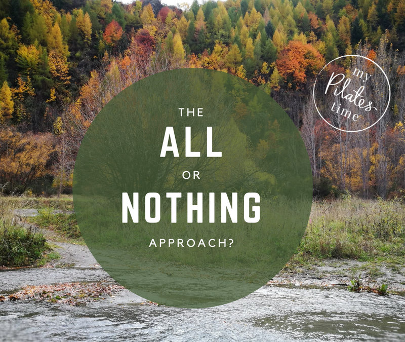 The ' All or Nothing' Approach